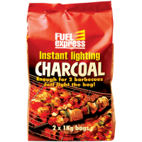 Instant Lighting Charcoal 2 x 1kg