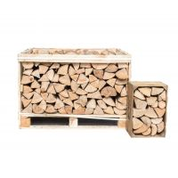 Small Crate Kiln Dried Birch Hardwood Logs
