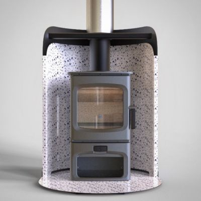 Charnwood Stove POD with Aire 3 Store Stand Stove